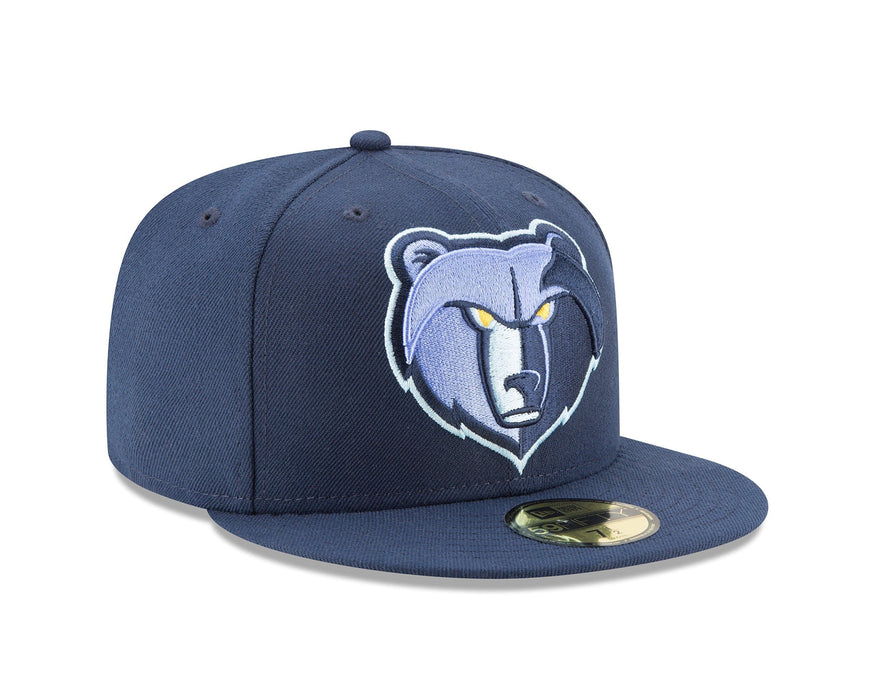 New Era Memphis Grizzlies Navy 59Fifty Fitted Hat