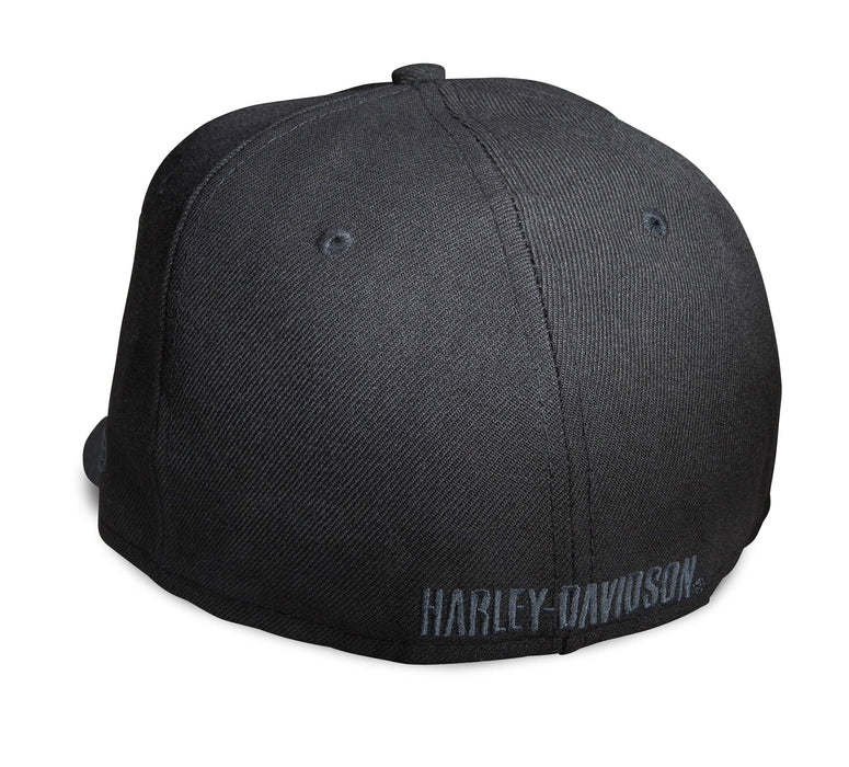New Era Harley-Davidson Official Logo 59FIFTY Fitted Hat (Black)