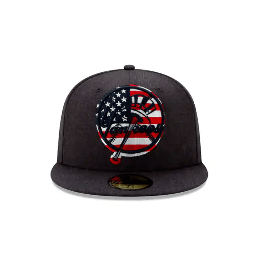 fitted hat american flag