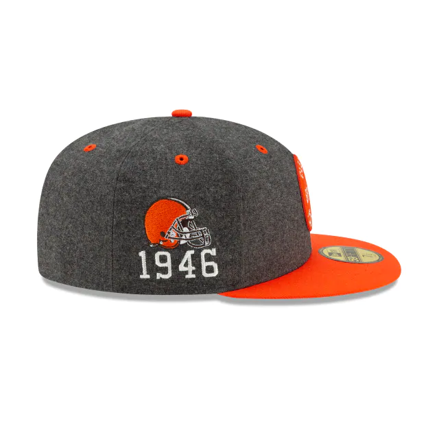 New Era Cleveland Browns Sideline 59Fifty Fitted Hat