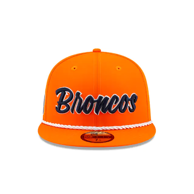 New Era Denver Broncos Sideline 59Fifty Fitted Hat