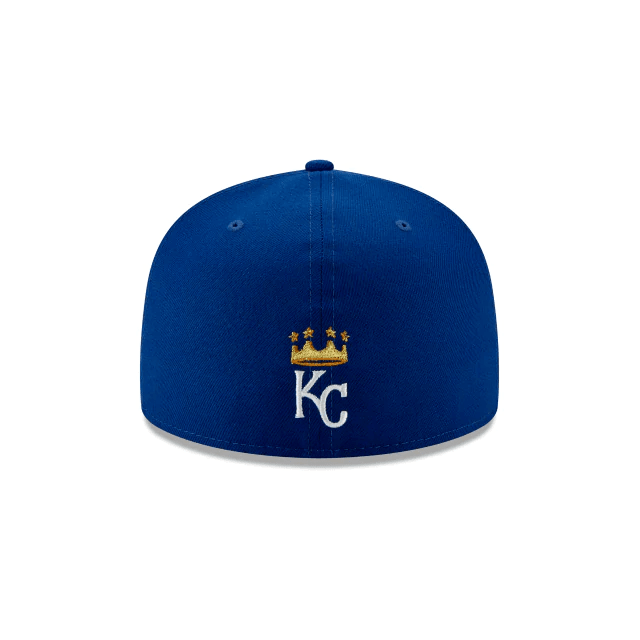 Kansas City Royals Logo Elements 59Fifty Fitted Hat