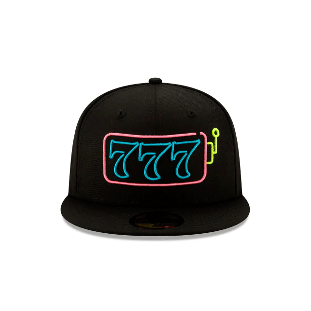 New Era Lucky 7 Neon Jackpot 59Fifty Fitted Hat