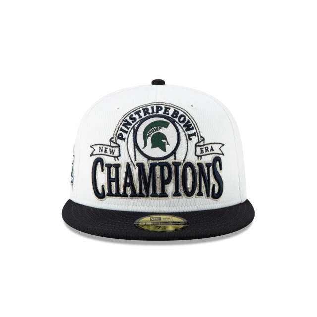 New Era Michigan State Spartans Pinstripe Bowl Fitted Hat