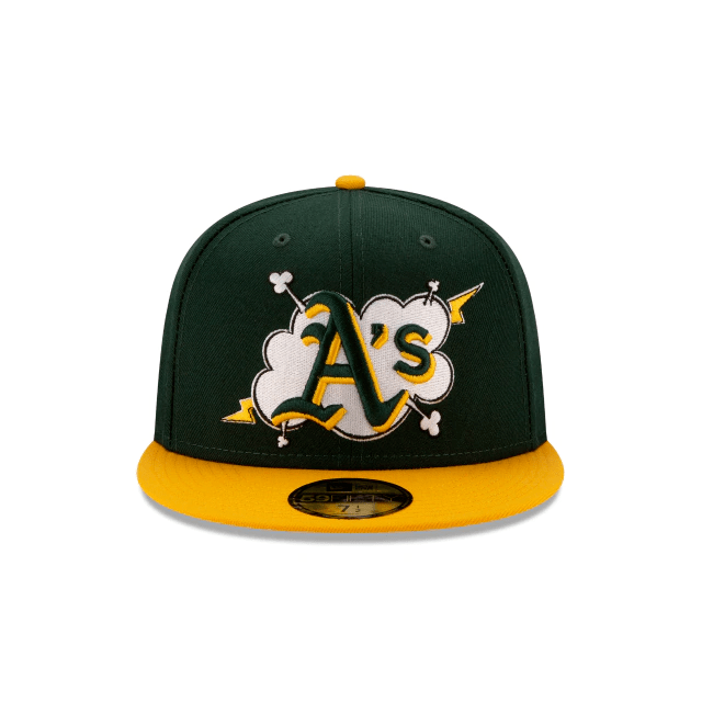 New Era Oakland Athletics Cloud 59Fifty Fitted Hat
