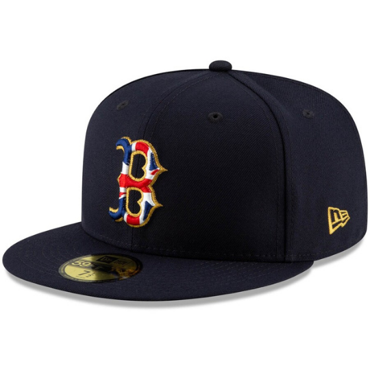 New Era Boston Red Sox 2019 London Series Team Jack 59FIFTY Fitted Hat