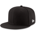Black Blank Fitted Hat