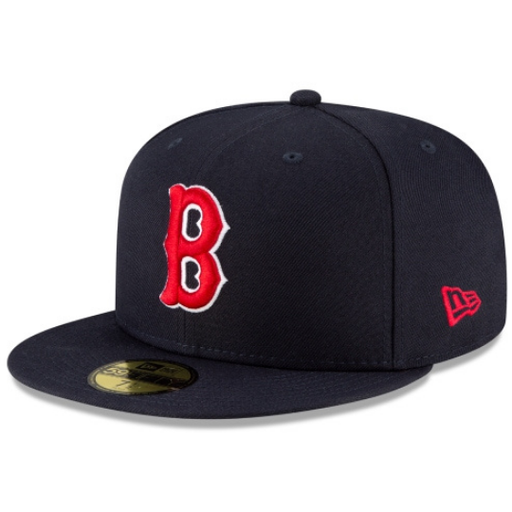 New Era Boston Red Sox Ligature 59Fifty Fitted Hat