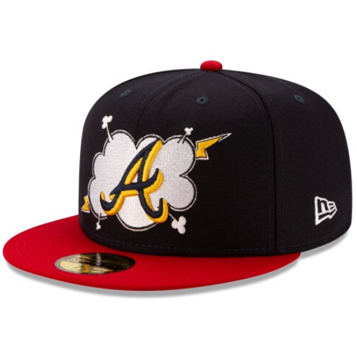 New Era Atlanta Braves Cloud 59Fifty Fitted Hat