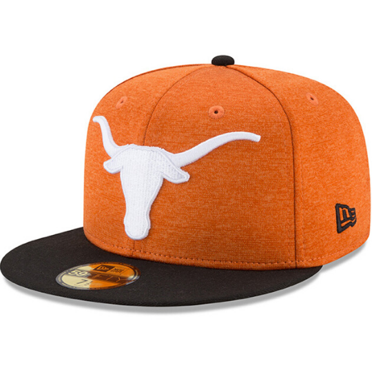 New Era Texas Longhorns Orange 59Fifty Fitted Hat