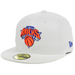 New York Knicks White Fitted Hat