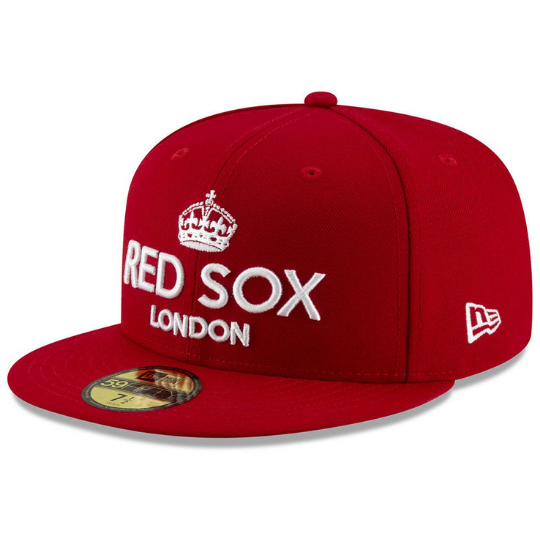 New Era Boston Red Sox London Series 59FIFTY Fitted Hat