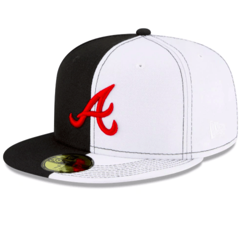 Atlanta Braves Scarface Fitted Hat