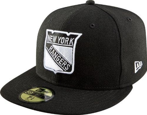 New Era NHL New York Rangers 59Fifty Fitted Hat (Black)