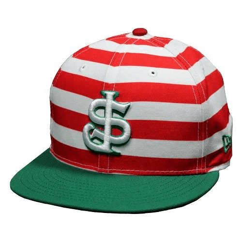 New Era San Jose Giants Candy Cane Stripe 59Fifty Fitted Hat