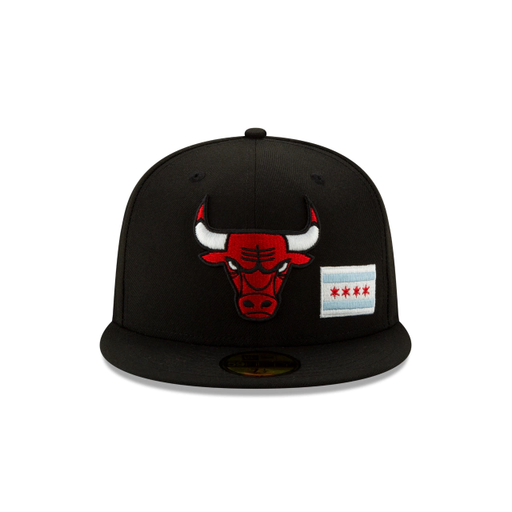 Chicago Bulls  Team Describe Fitted Hat