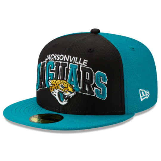 New Era Jacksonville Jaguars Sideline 59Fifty Fitted Hat