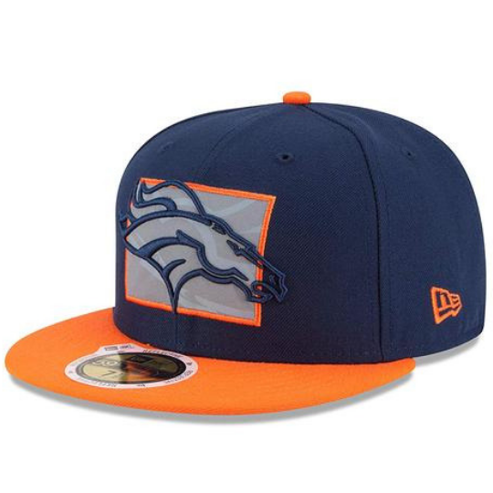 New Era Denver Broncos Flective Redux 59FIFTY Fitted Hat