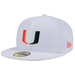 New Era Miami Hurricanes Fitted Hat