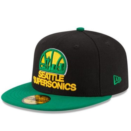 New Era Seattle Supersonics 59FIFTY Fitted Hat