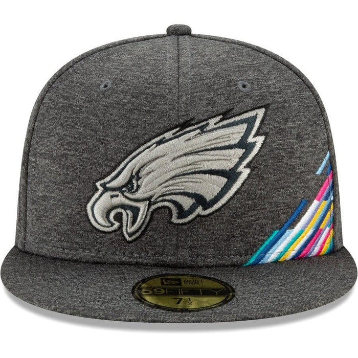 New Era Philadelphia Eagles 2019 NFL Crucial Catch 59FIFTY Fitted Hat