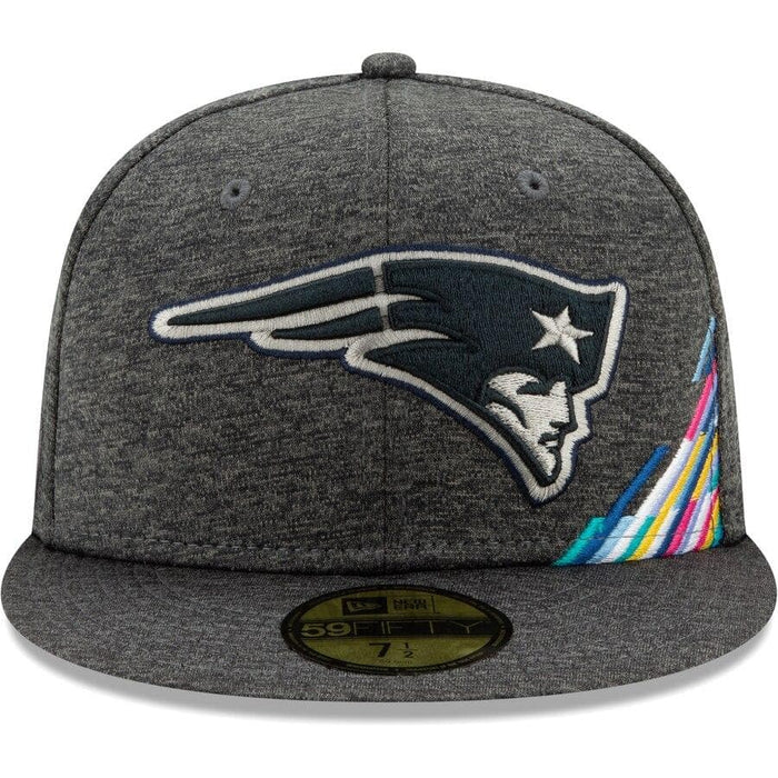 New Era New England Patriots 2019 Crucial Catch 59FIFTY Fitted Hat