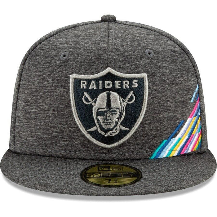 New Era Oakland Raiders 2019 Crucial Catch 59FIFTY Fitted Hat