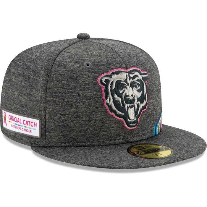 New Era Chicago Bears 2019 NFL Crucial Catch 59FIFTY Fitted Hat