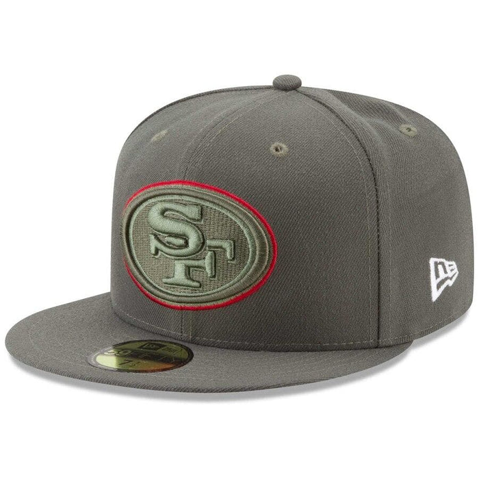 New Era San Francisco 49ers Salute To Service 59FIFTY Fitted Hat