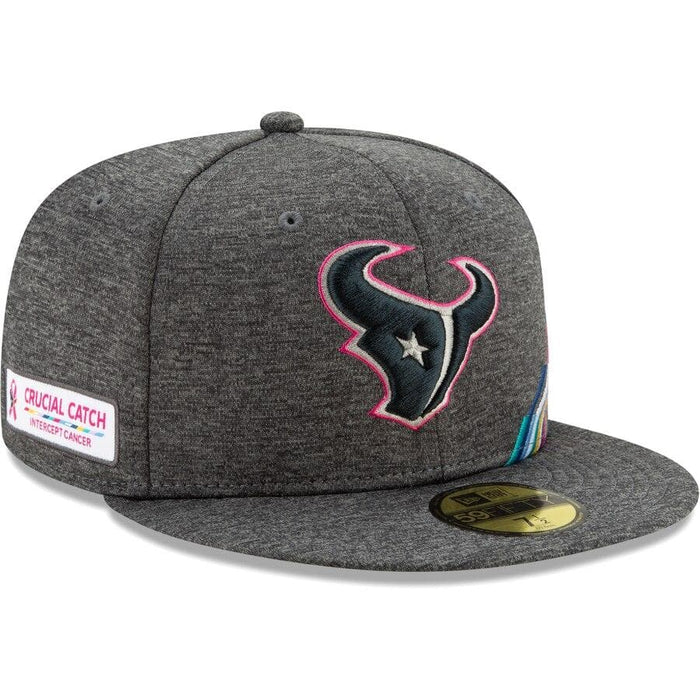 New Era Houston Texans New 2019 NFL Crucial Catch 59FIFTY Fitted Hat