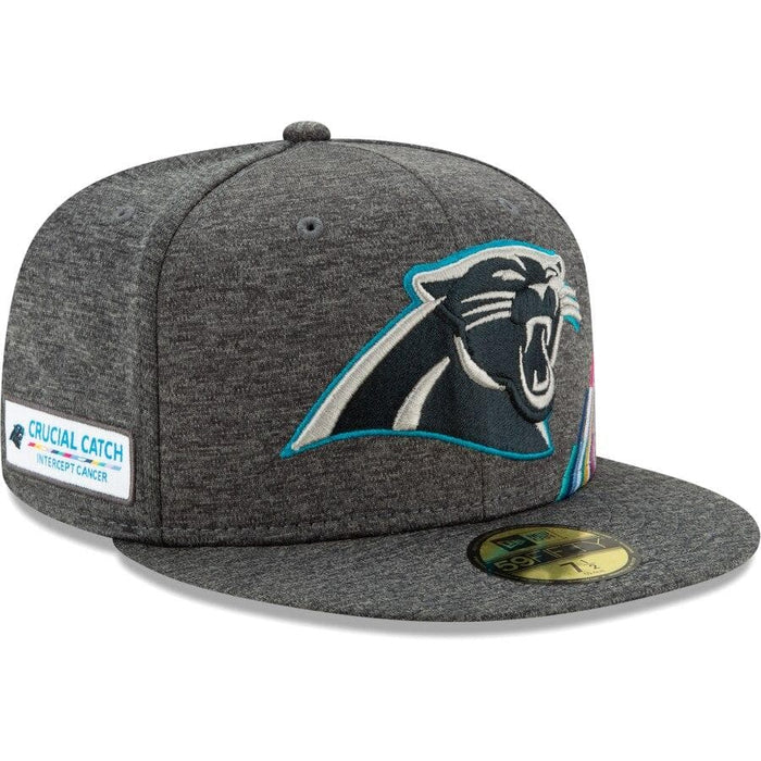 New Era Carolina Panthers 2019 Crucial Catch 59FIFTY Fitted Hat