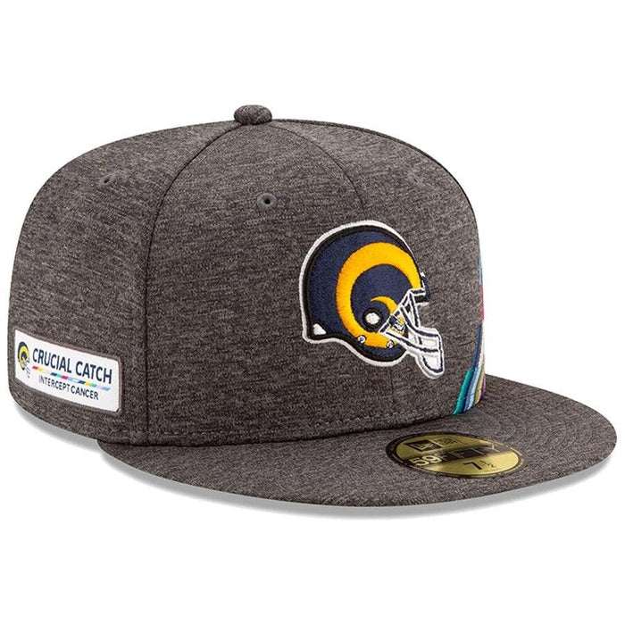 New Era Los Angeles Rams 2019 Crucial Catch 59FIFTY Historic Logo Fitted Hat