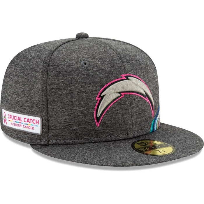 New Era Los Angeles Chargers 2019 Crucial Catch 59FIFTY Fitted Hat