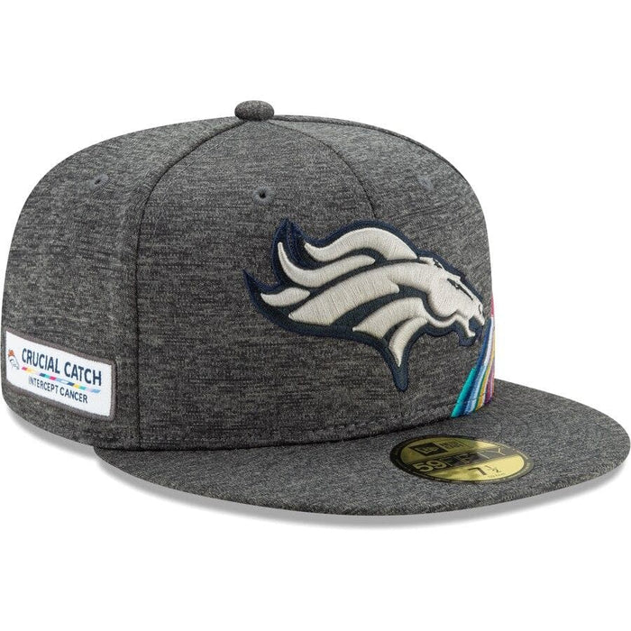 New Era Denver Broncos 2019 Crucial Catch 59FIFTY Fitted Hat