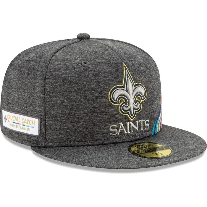New Era New Orleans Saints 2019 Crucial Catch 59FIFTY Fitted Hat