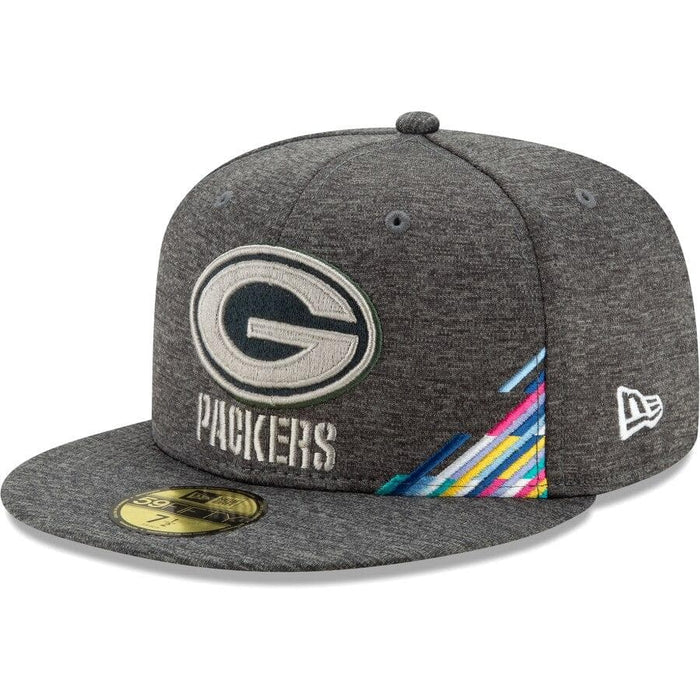 New Era Green Bay Packers 2019 Crucial Catch 59FIFTY Fitted Hat