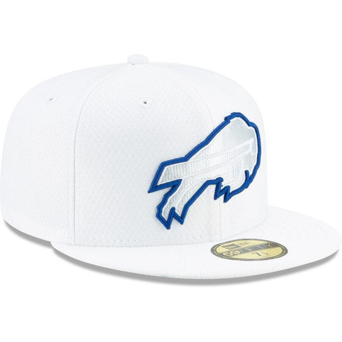New Era Buffalo Bills 2019 NFL Sideline Platinum 59FIFTY Fitted Hat