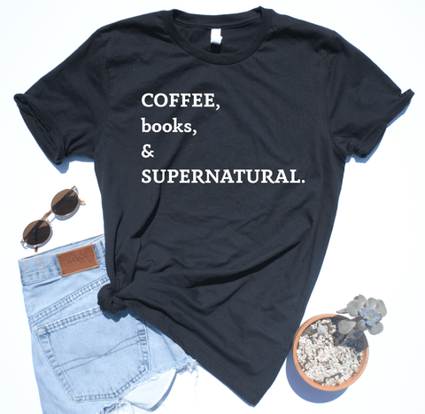 Coffee, Books, & Supernatural Top