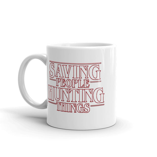 Saving People Hunting Things Mug