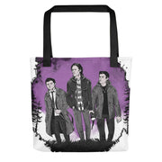 Three Dudes On A Hunt Tote Bag