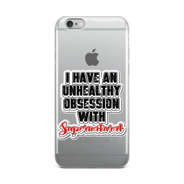 Obsessed With Supernatural iPhone Case
