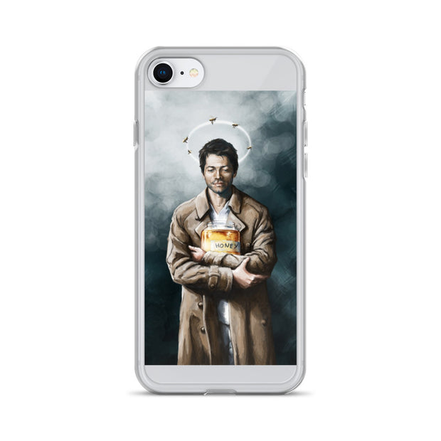 Artsy Castiel iPhone Case