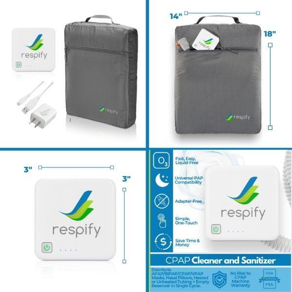 Respify CPAP Cleaner & Sanitizer HSA / FSA Eligible