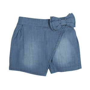 Bermudas Chambray Crosscross
