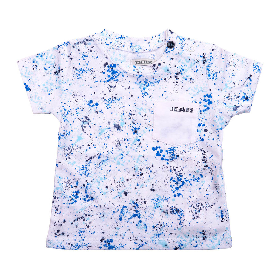 Playera Blue Paint