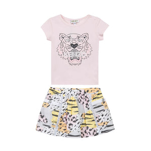 Conjunto Rose Animal Print