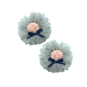 Tul Flower Brooch