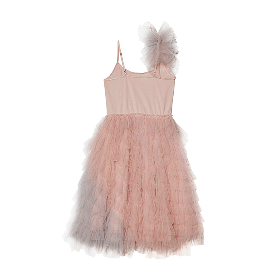 Vestido En Rose Long Tutu