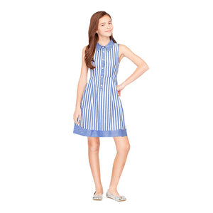 Vestido Chambray Stripes