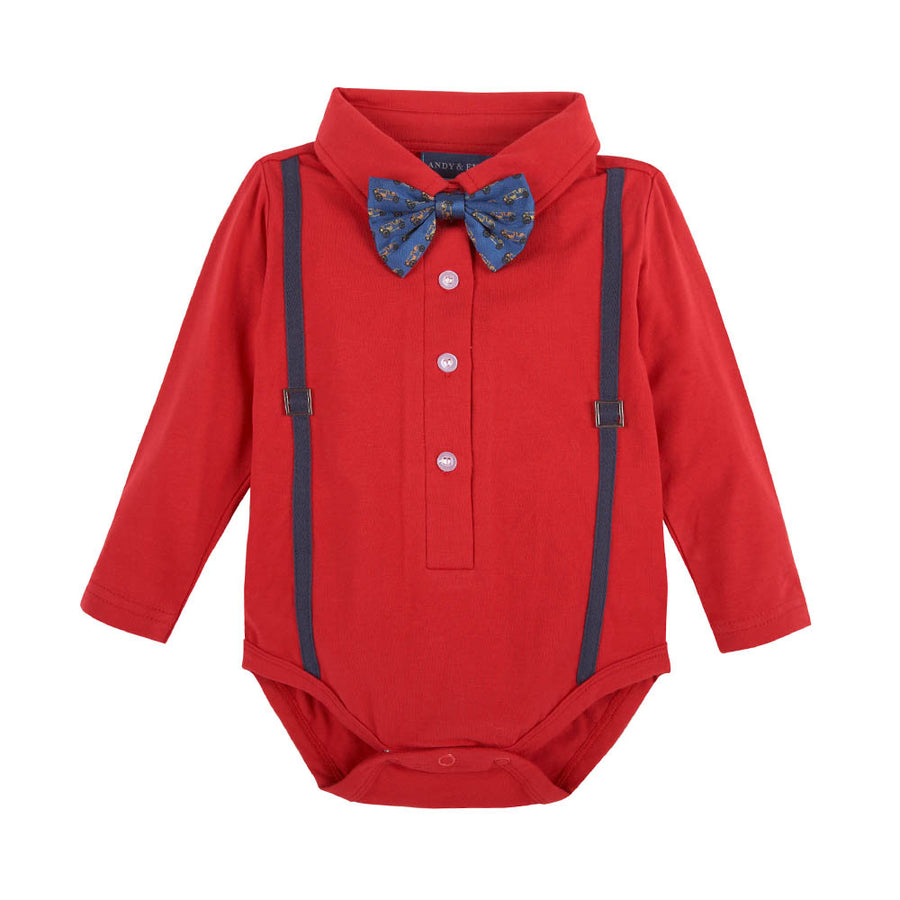 Mameluco Navy Bow